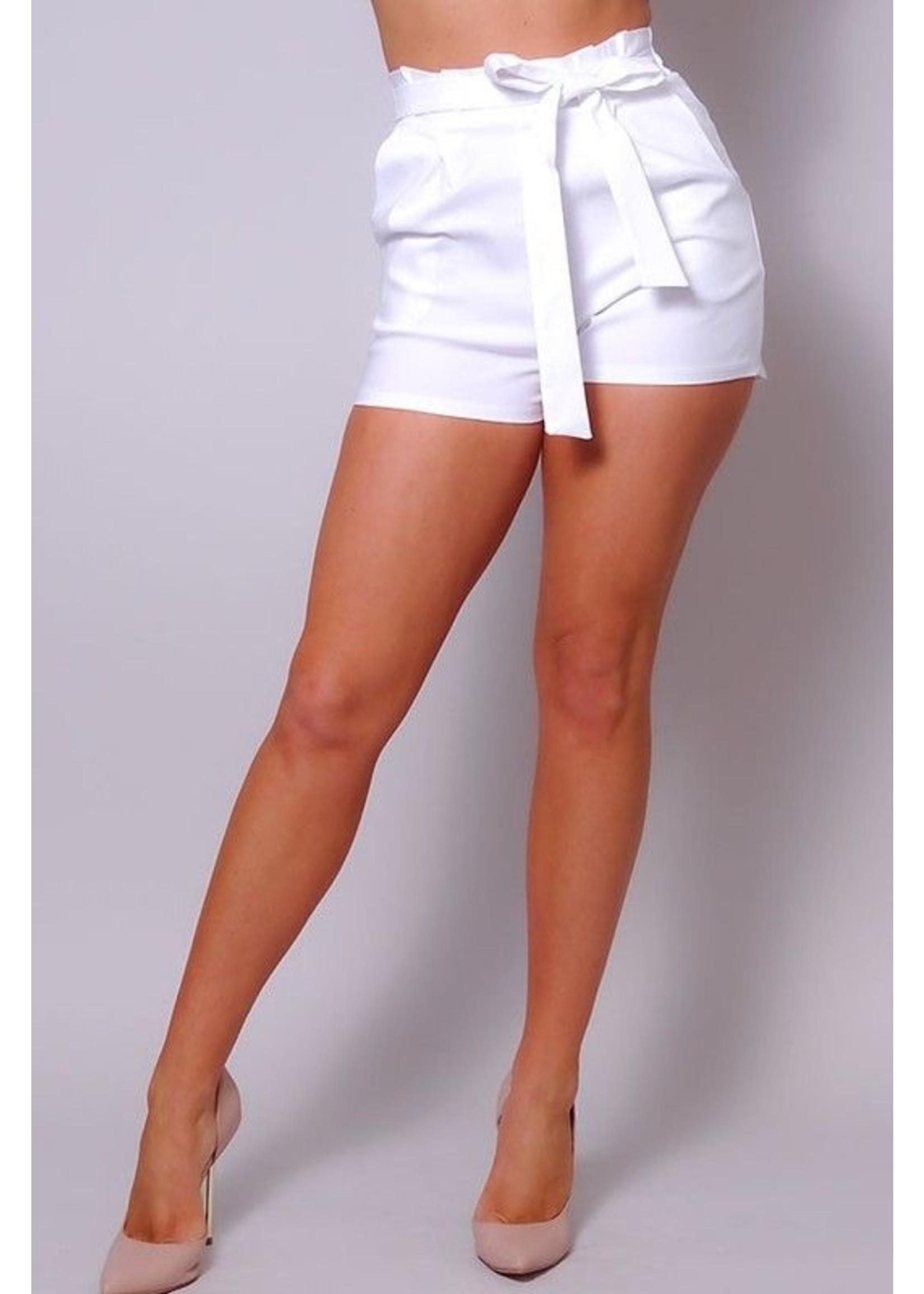 Cefian Presley Shorts White