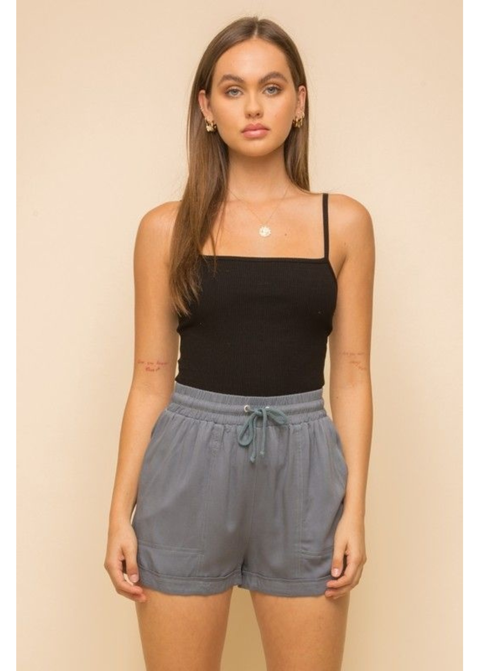 Hem & Thread Lahna Shorts Blue
