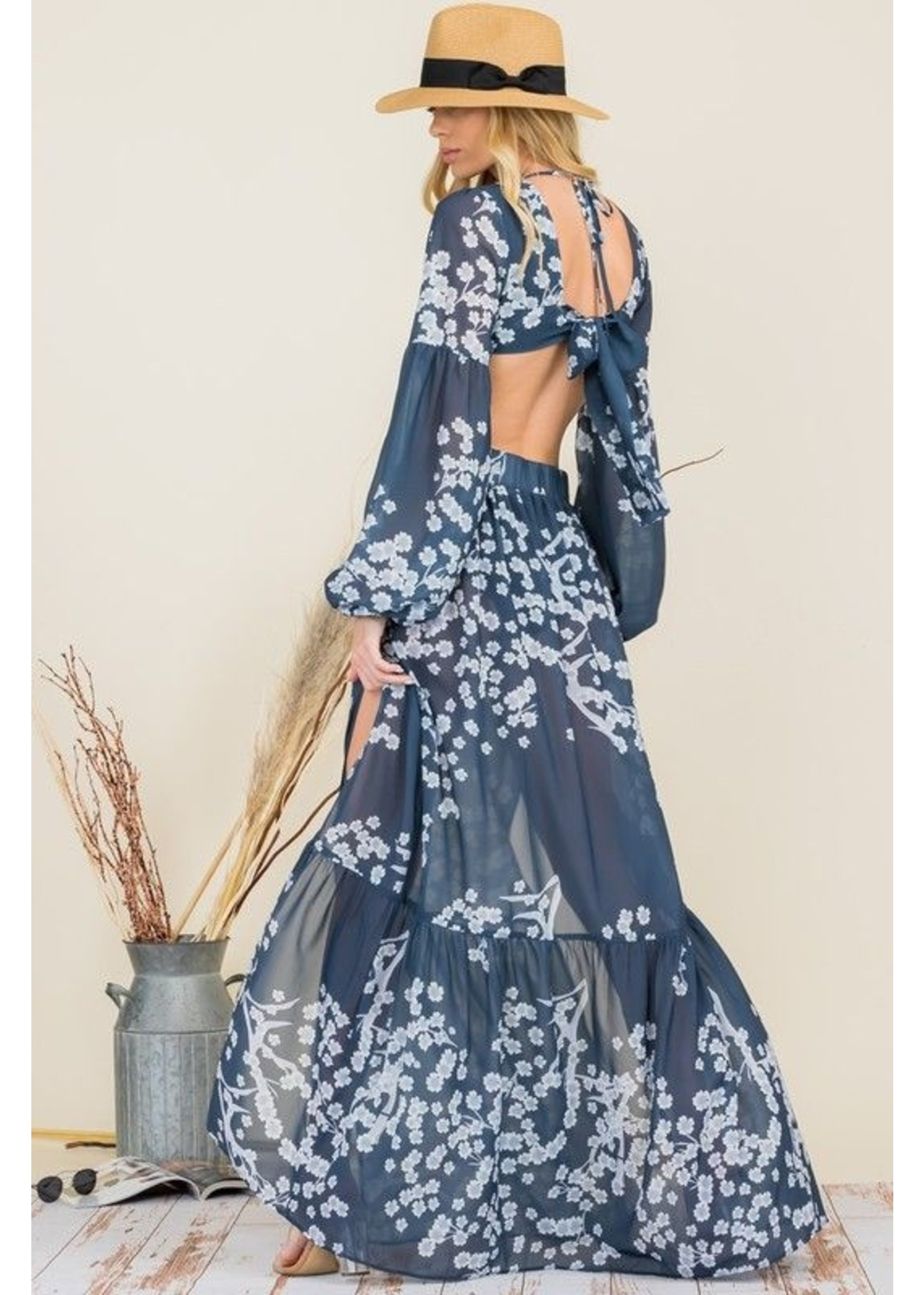 Ambition Be Giselle Dress Blue