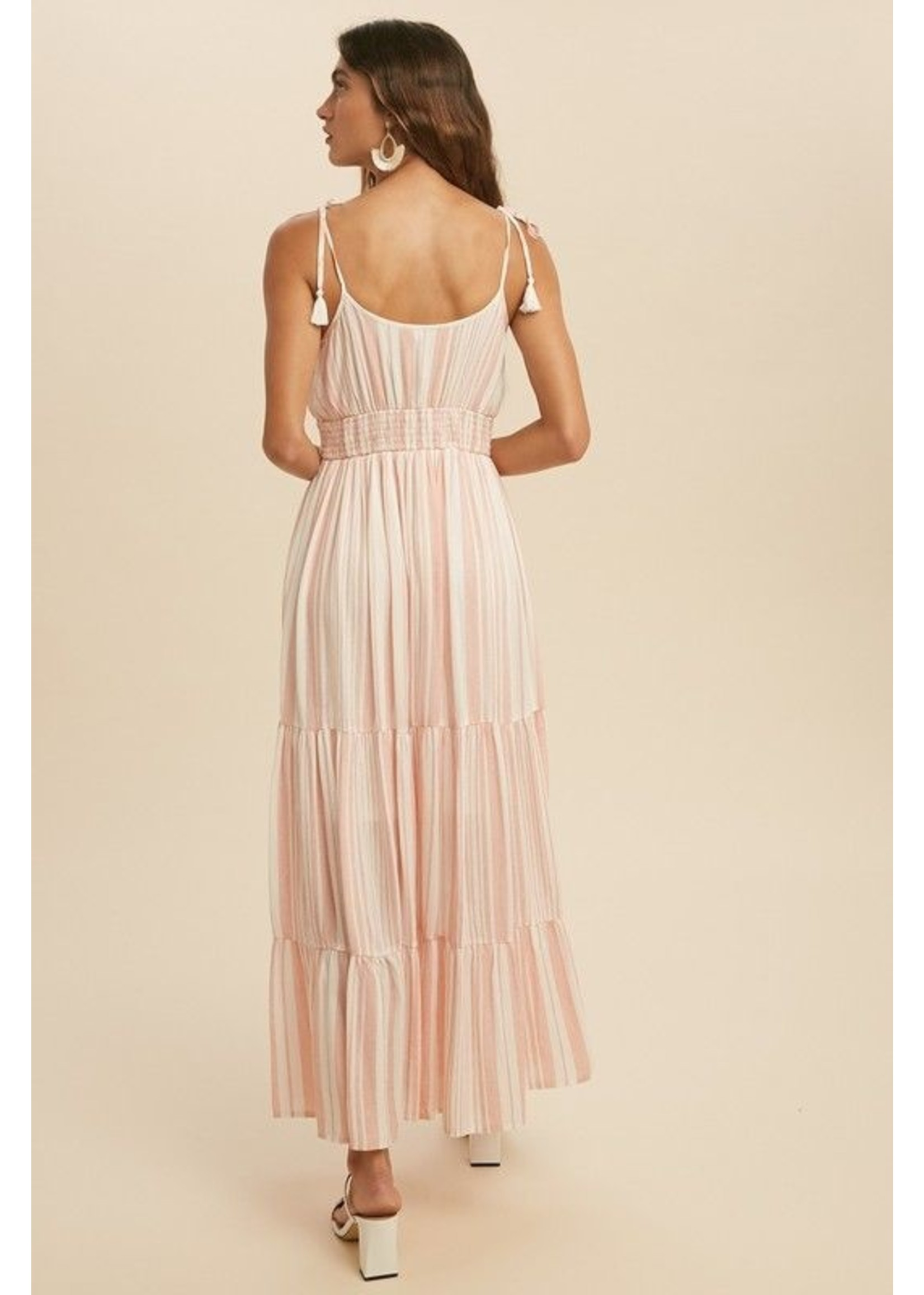In-Loom Stay Comfy Maxi Dress Coral