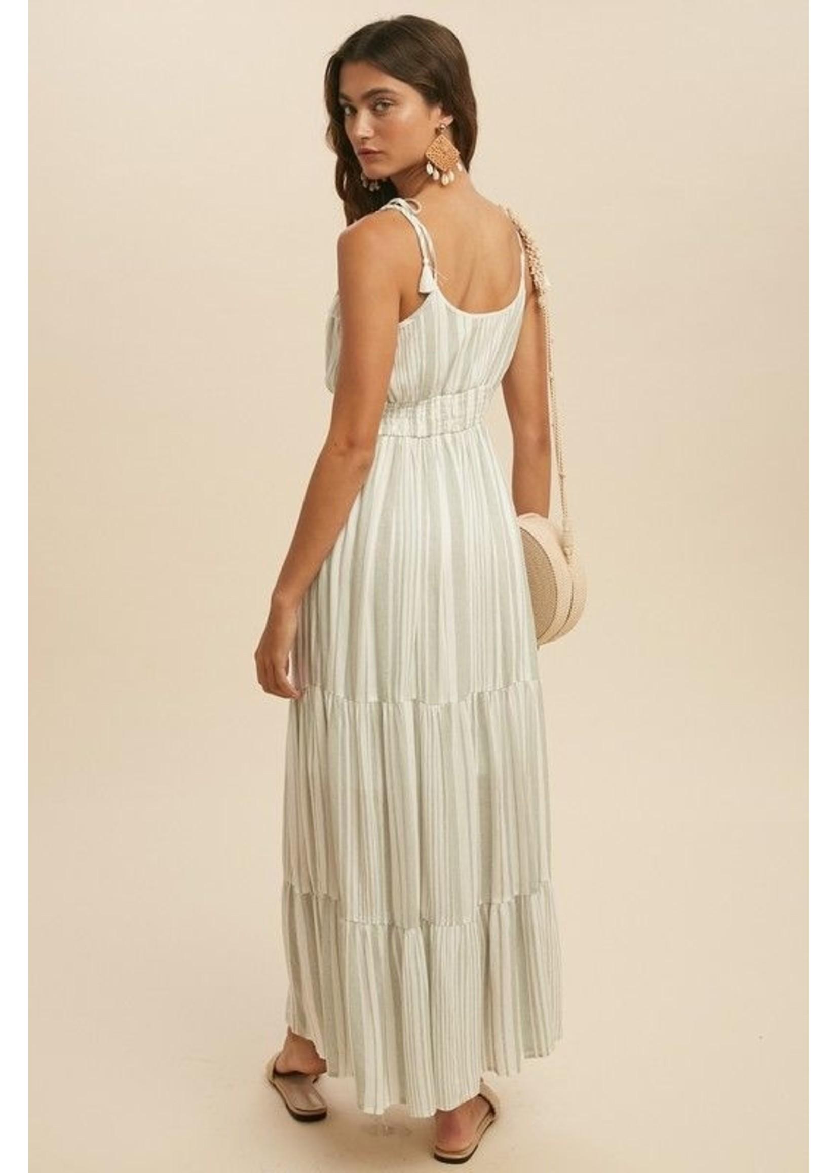 In-Loom Stay Comfy Maxi Dress Sage