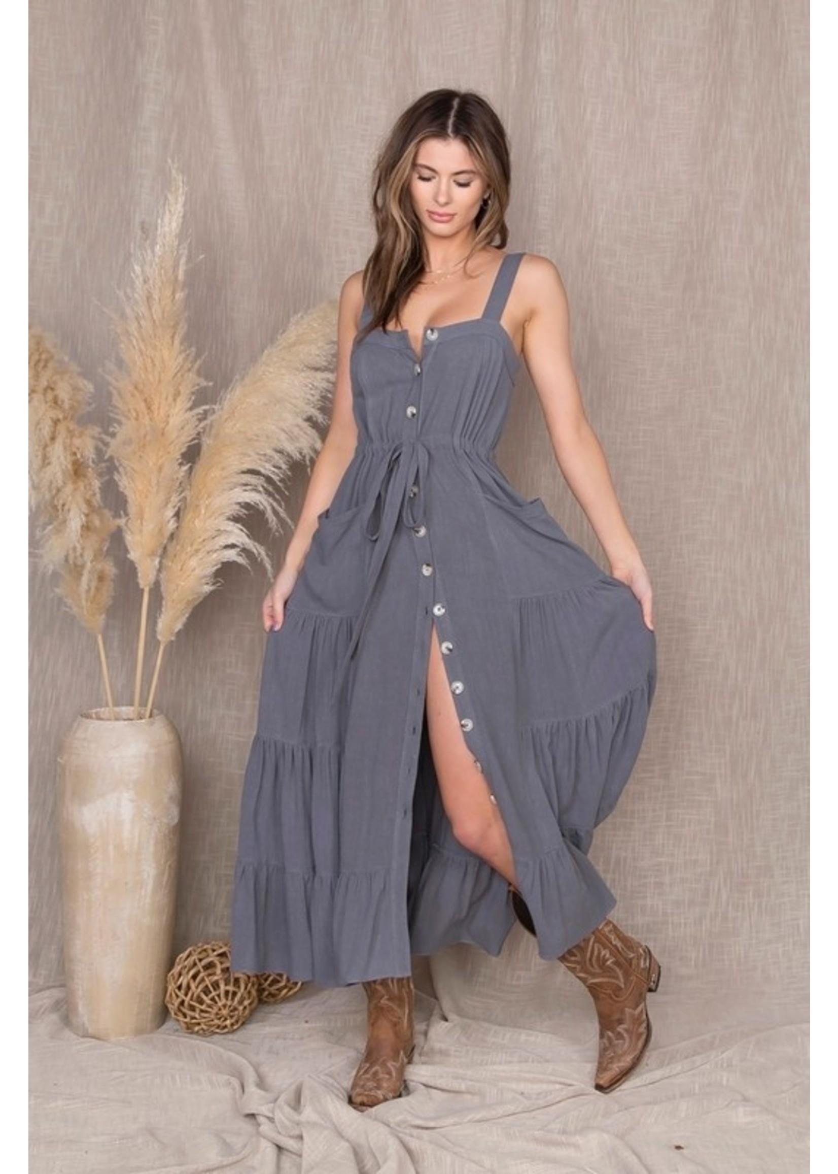 Malibu Bum Sea Escape Dress Blue