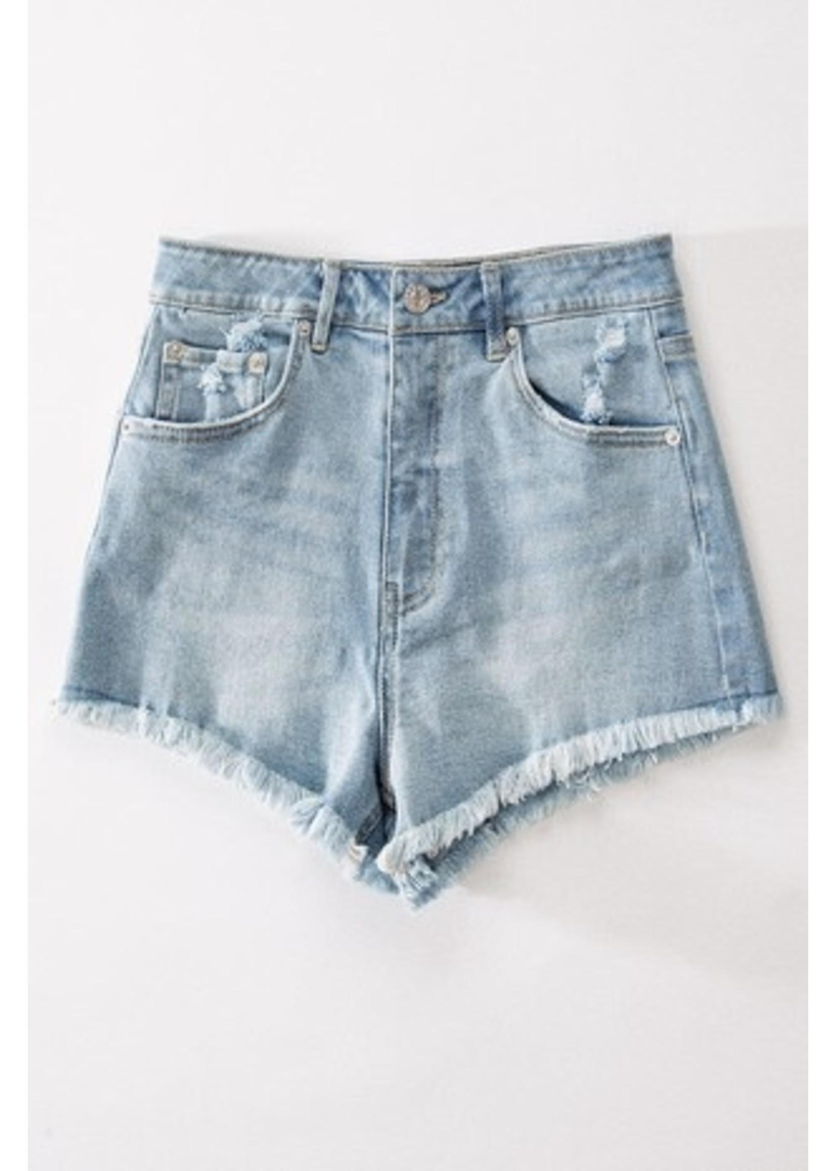 trend : notes Daisy Dukes 2.0 Shorts Lt Blue