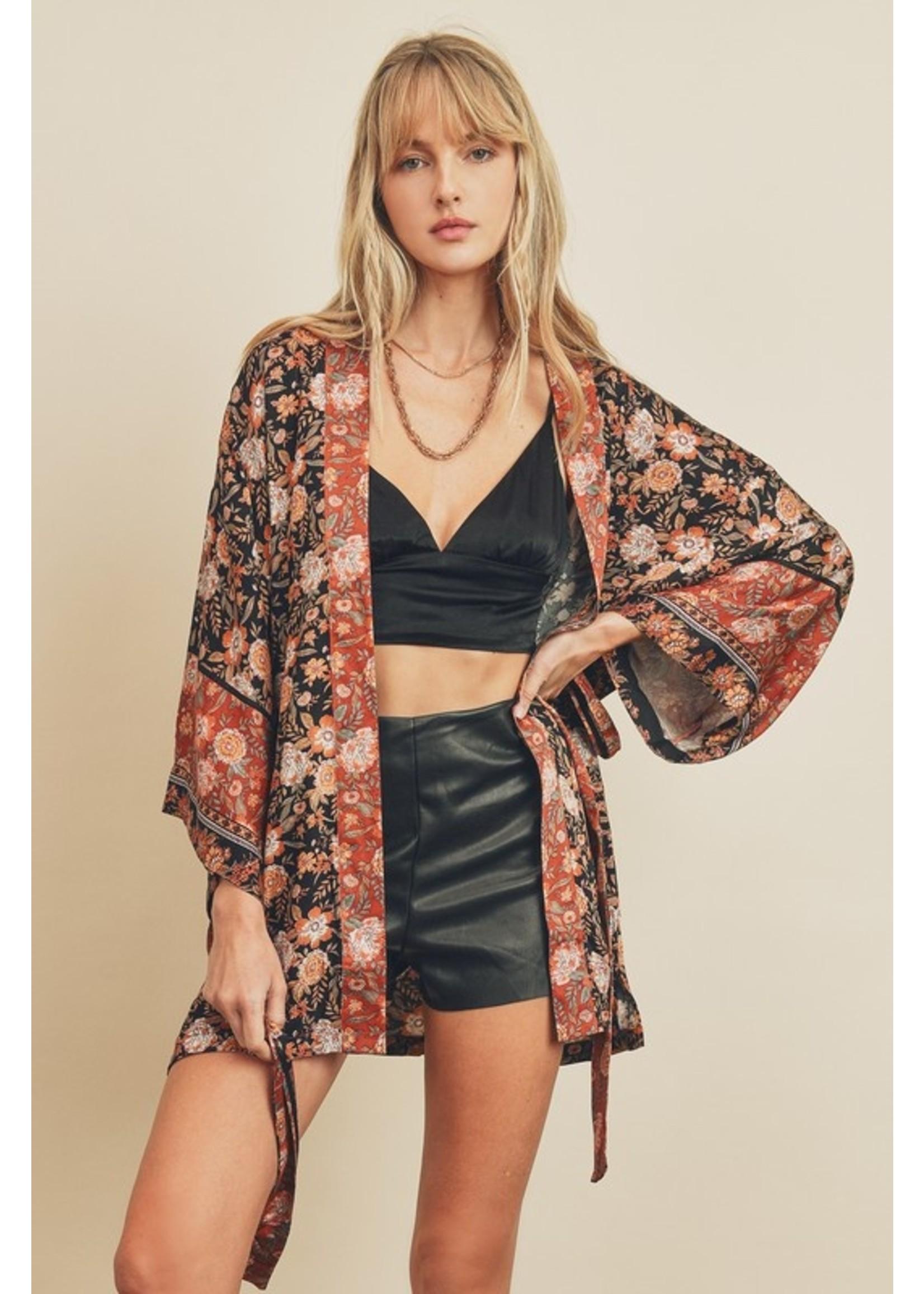 Dress Forum Wrap Me Up Kimono Black
