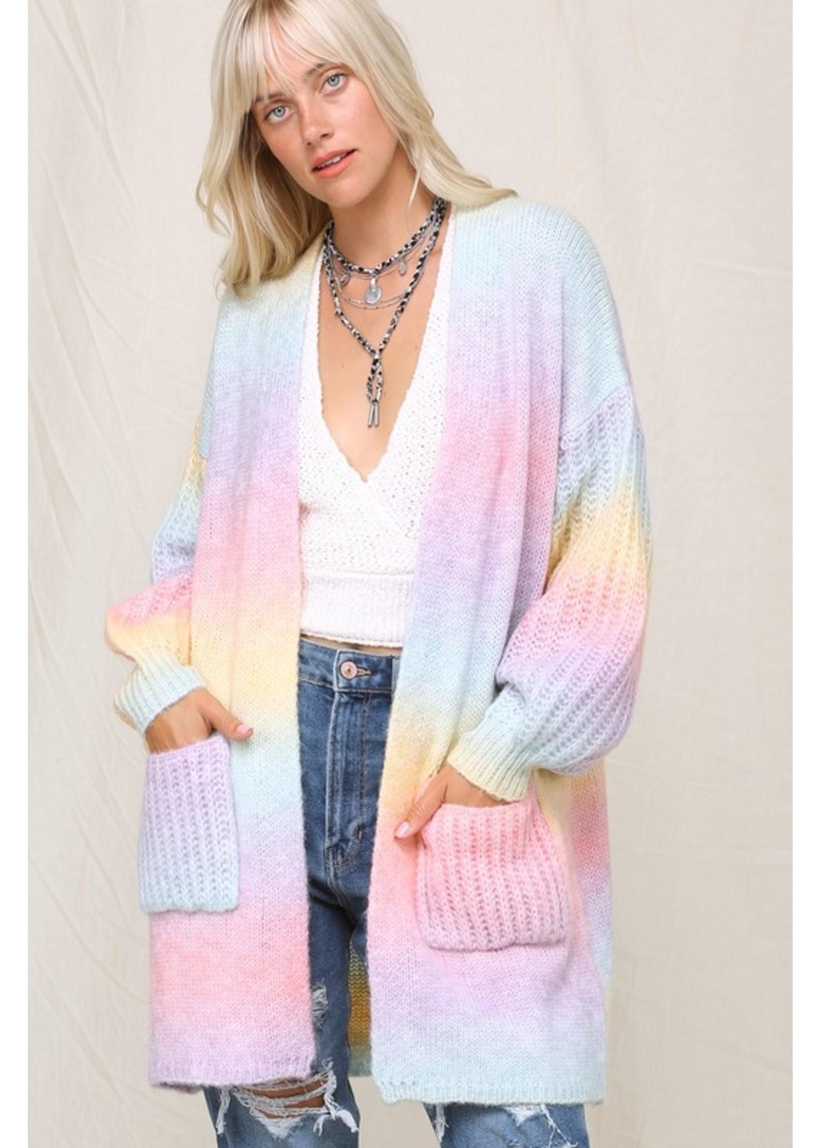 KyeMi Colour Me Beautiful Cardigan Multi