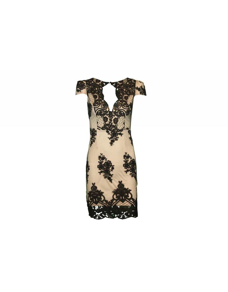 selfie leslie Mia Lace Floral Dress