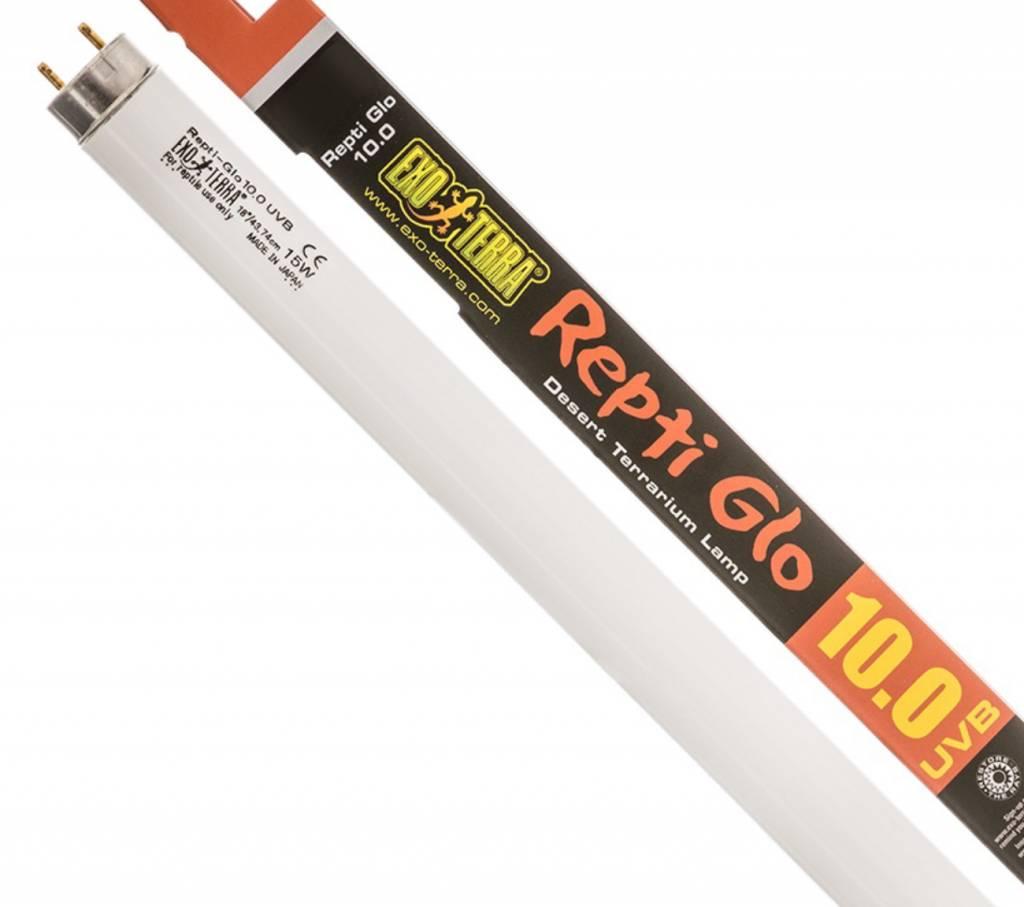 Exo Terra Repti-Glo 10.0 Fluorescent Lamp, 15W, 18-1