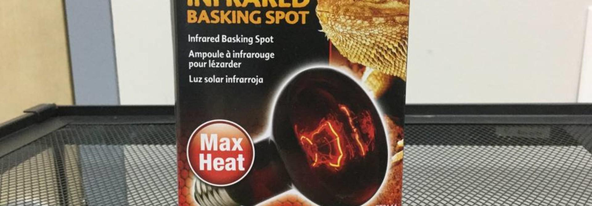 Exo Terra Infrared Basking Spot Lamp, 100W