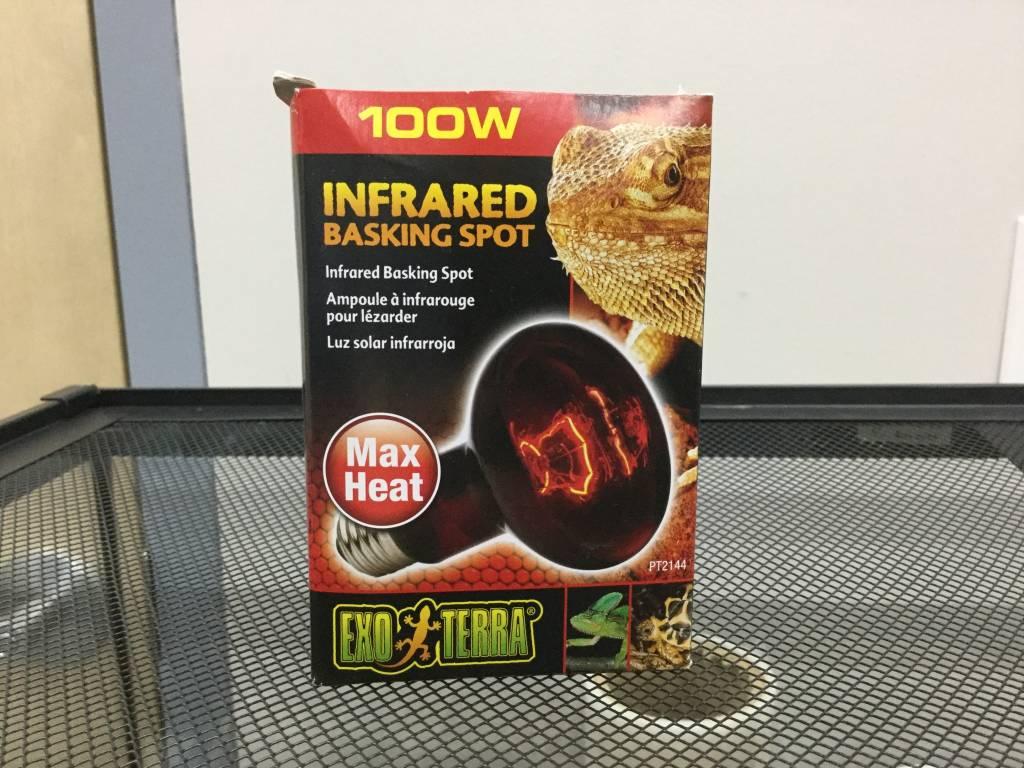 Exo Terra Infrared Basking Spot Lamp, 100W-1
