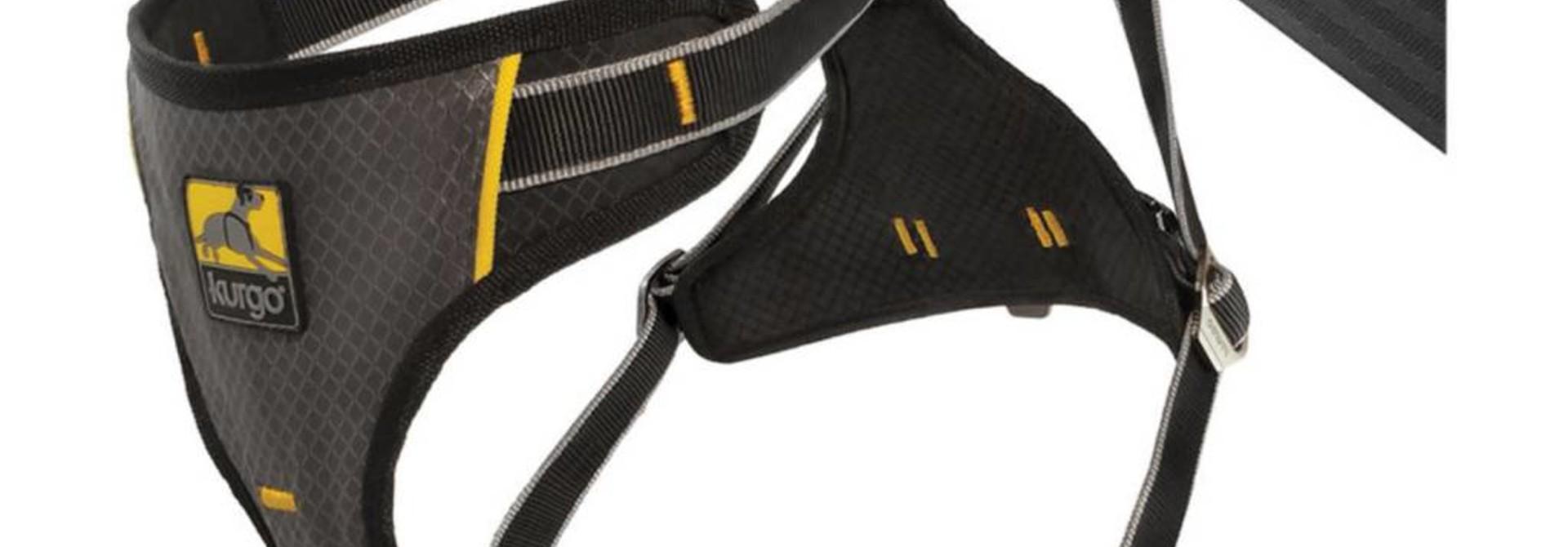 Kurgo Impact Seatbelt Harness-Small-Black