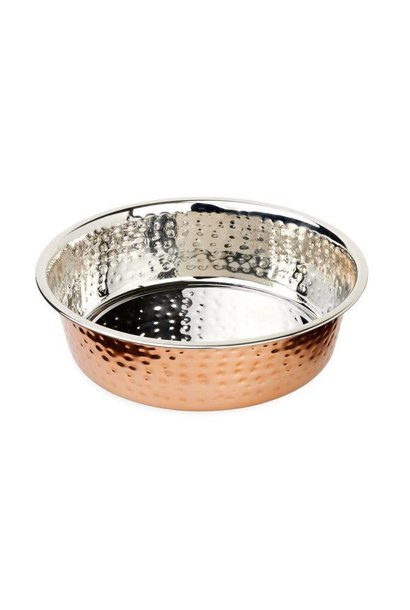 Buddy's Line SS Hammered Copper Bowl  2.96L