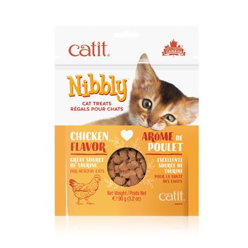 Catit Nibbly Cat Treats - Chicken Flavour - 90 g