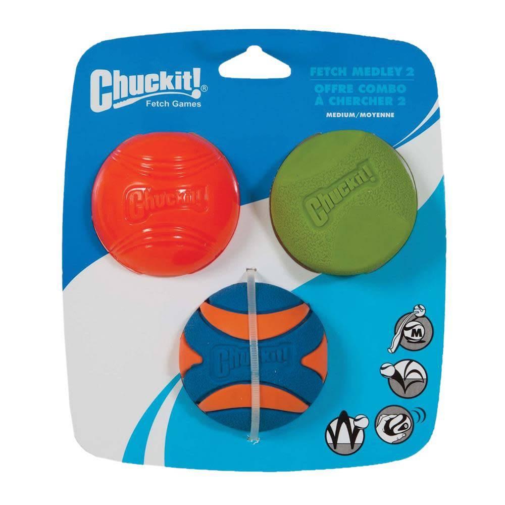 Chuckit! Fetch Medley 2, 3pk-2