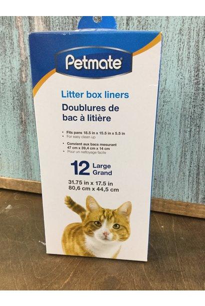Litter Box Liners Lge
