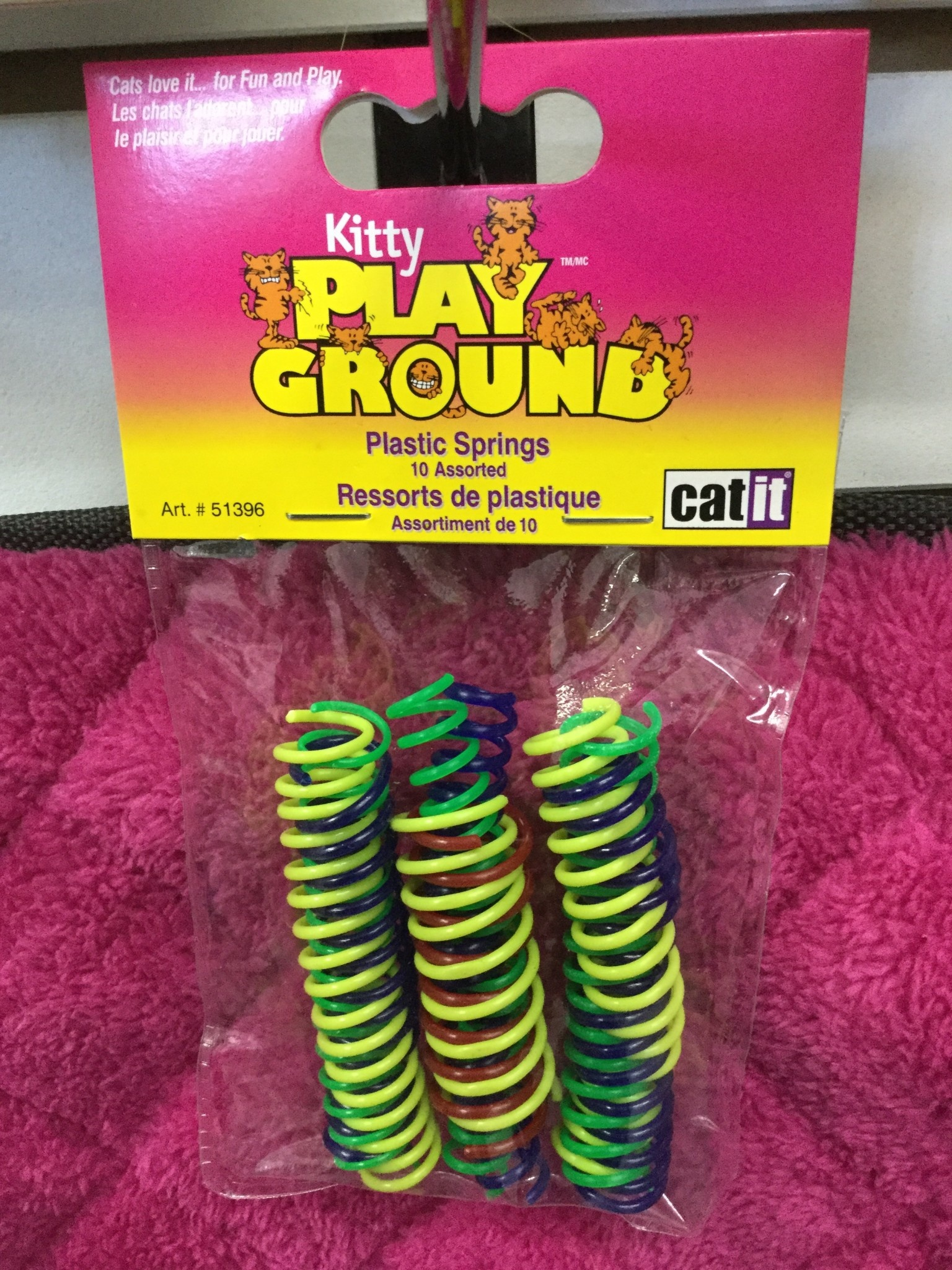 Catit Playground Small Plastic Springs-1
