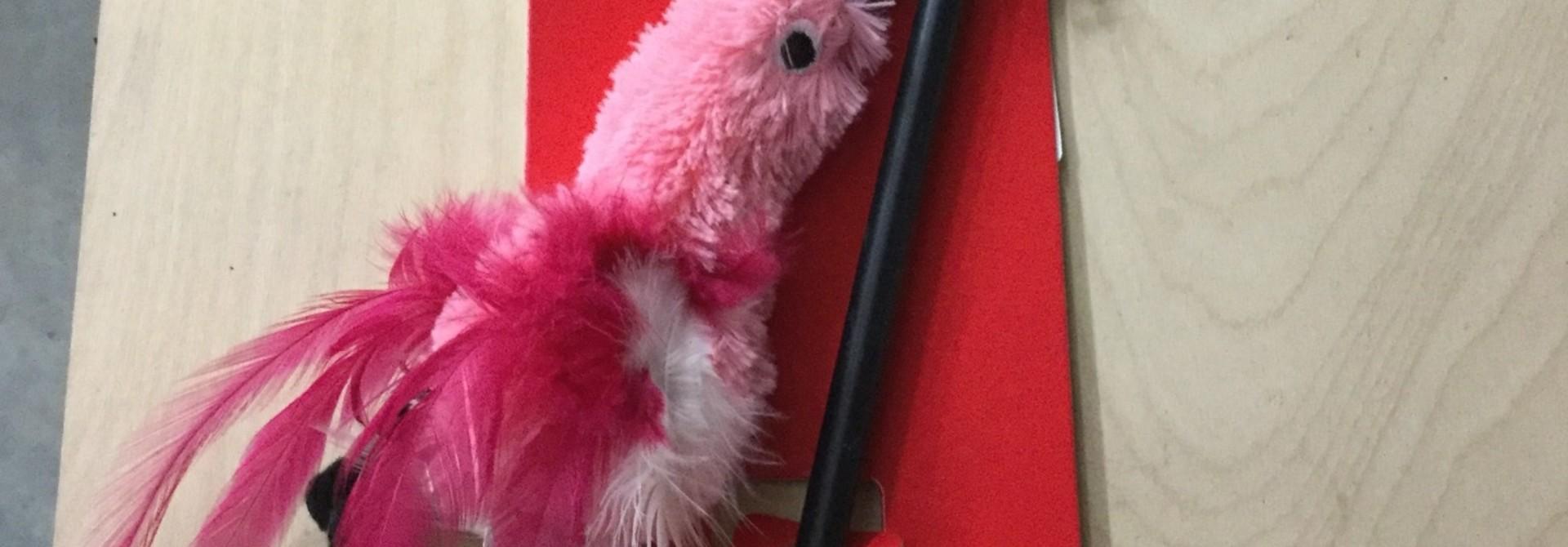 KONG Cat Feather Teaser Wand