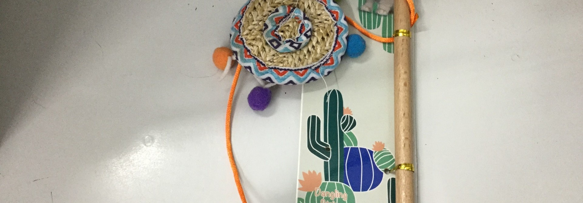 All For Paws Sombrero Wand Cat Toy