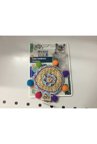 All For Paws Color Sombrero Cat Toy