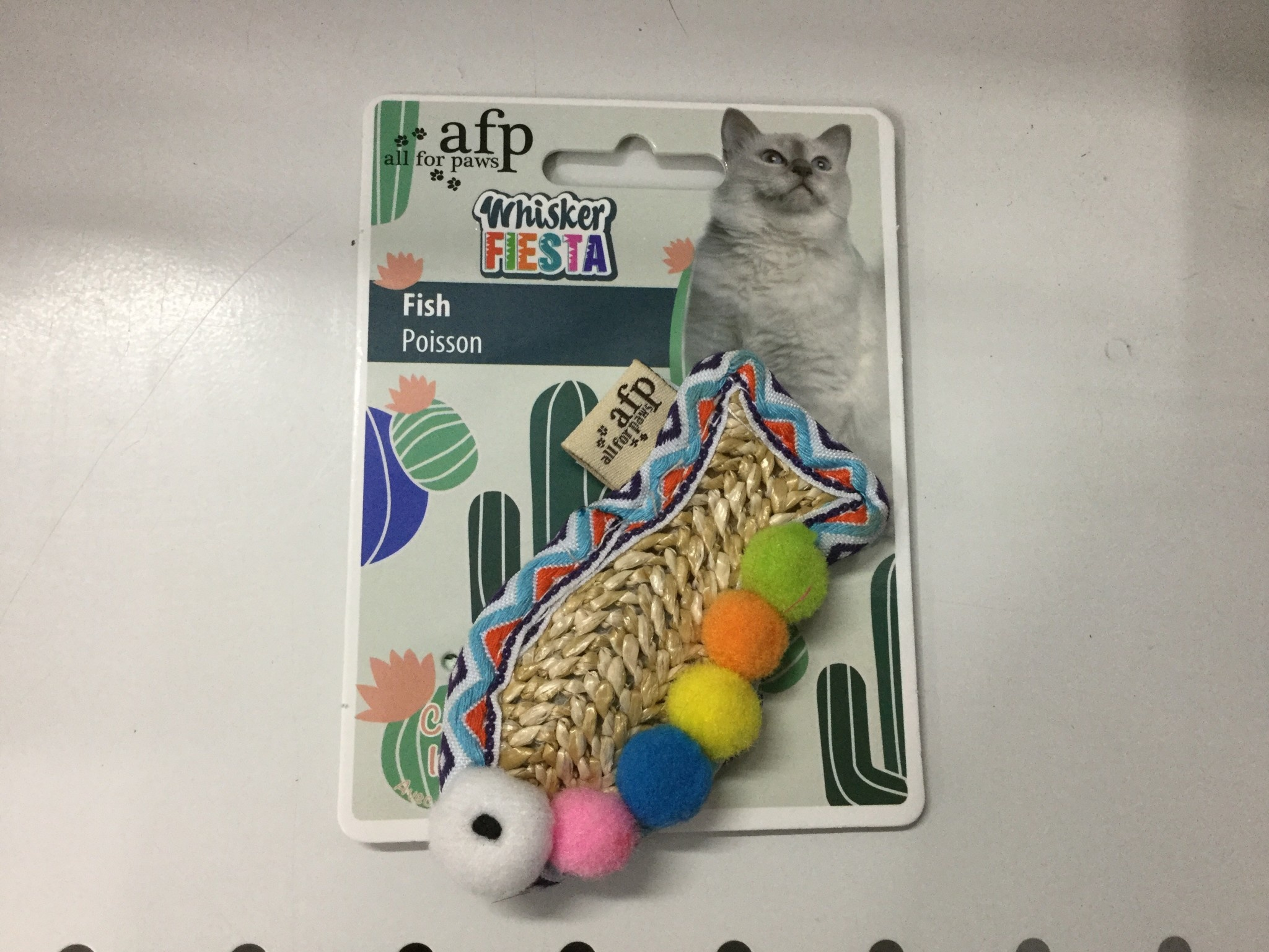 All For Paws Fish Cat Toy-1