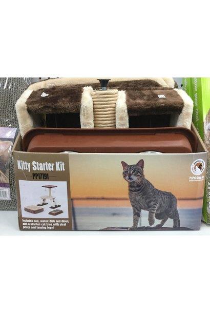 PetPals Brown Kitty Starter Kit