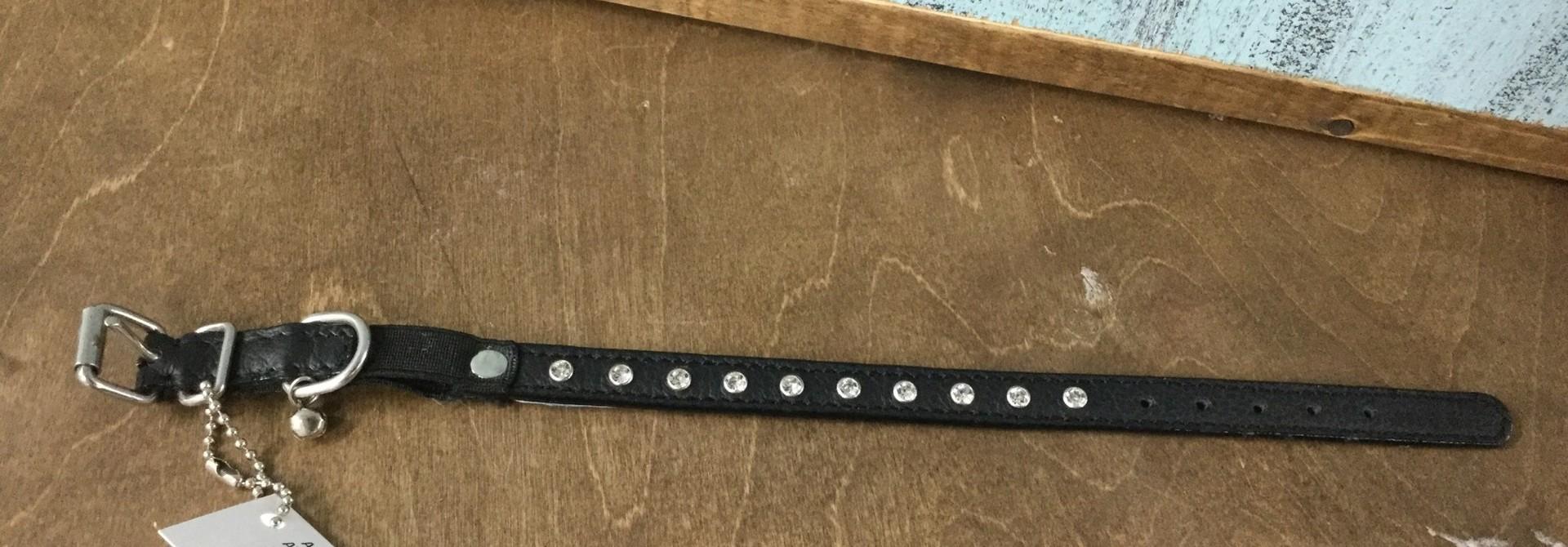 Athens Cat Collar 12''  Black
