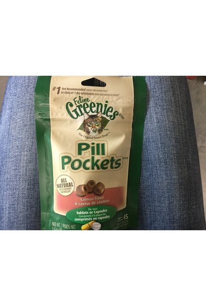 Greenies Pill Pockets Cat Salmon 1.6OZ