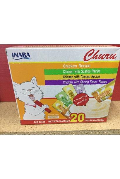 INA Churu Puree Chicken Var.Box 20pk