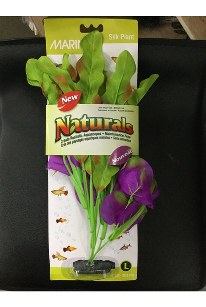 Marina Naturals/Indigo and Green Waffle Leaf/Silk Plant