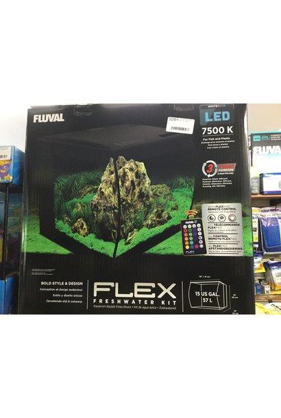 Fluval Flex Aquarium Kit - 57 Litres
