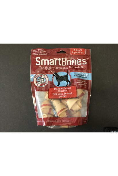 Smartbones Classic Bone Chews Sweet Chicken Small 16pk