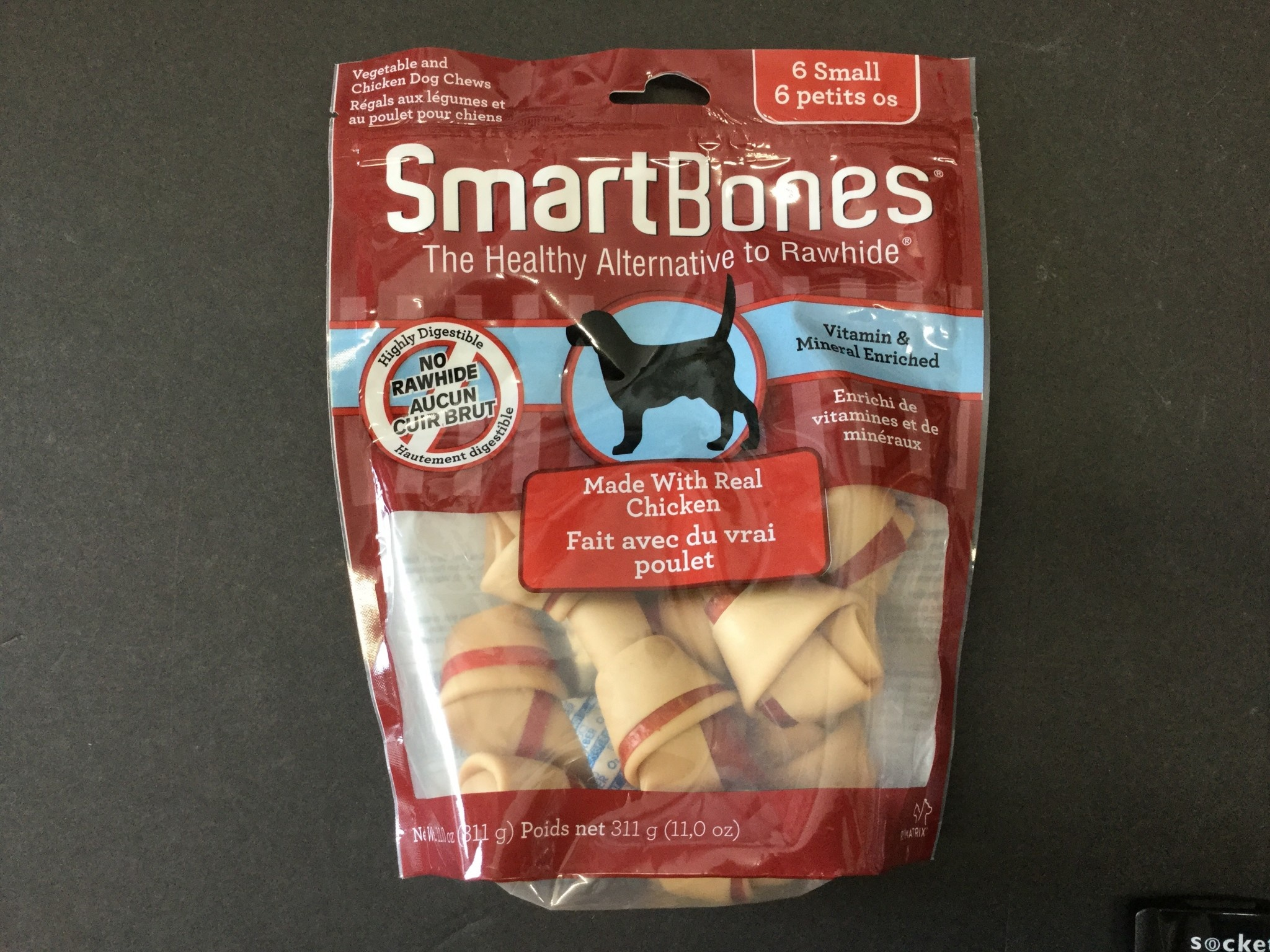 Smartbones Classic Bone Chews Sweet Chicken Small 16pk-1