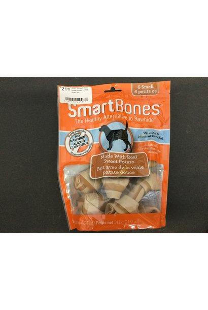 Smart Bones-Classic Sweet Potato Chews-Small 6pk