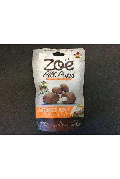 Zoe Pill Pops, Chicken w/ Rosmry, 100g