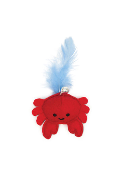 Catit Play Pirates Catnip Toy, Crab