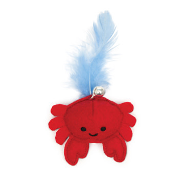 Catit Play Pirates Catnip Toy, Crab-1