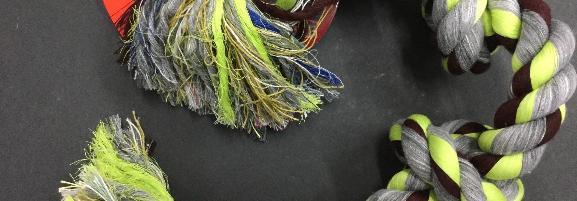 Cotton Tug 4 Knot Coloured XLarge 31