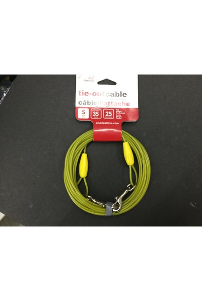 Sml Tie Out Cable 25ft Lime
