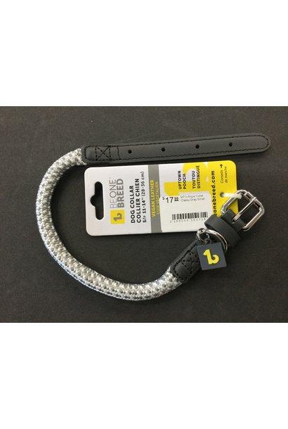 MTO-Rope Collar Classy Gray Small