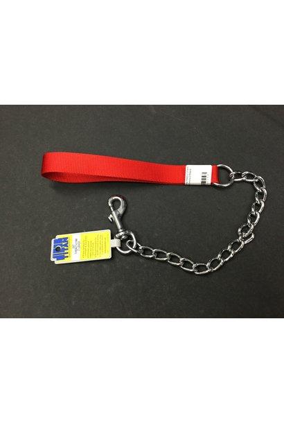 "Titan Extra Heavy Chain Leash/4.0mm x 2""/Red"