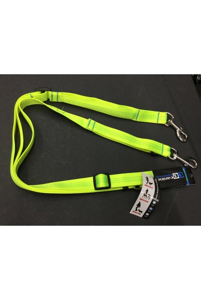 "CE Beyond Control Leash 1"" Neon Yellow"