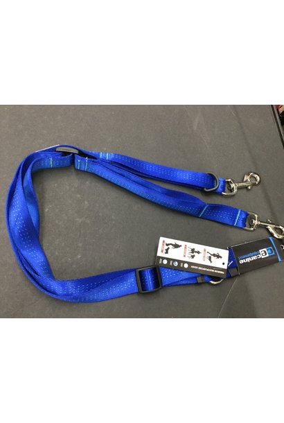 "CE Beyond Control Leash 1"" Blue"