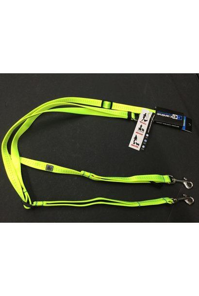 "CE Beyond Control Leash 3/4"" Neon Yellow"