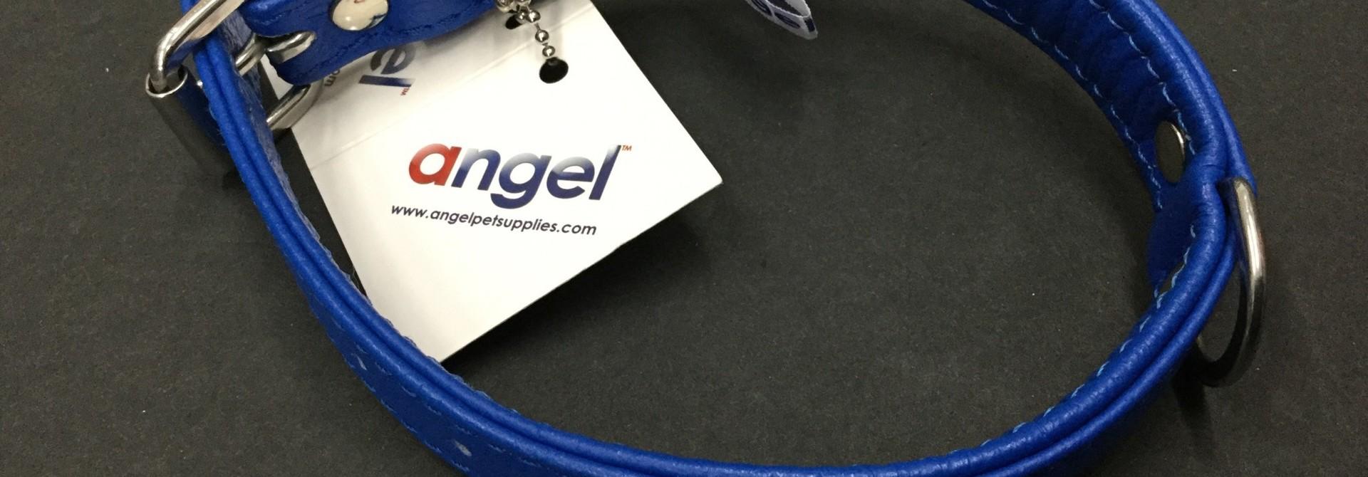 """Angel Collar Cobalt Blue 16"""" x 1"""""""