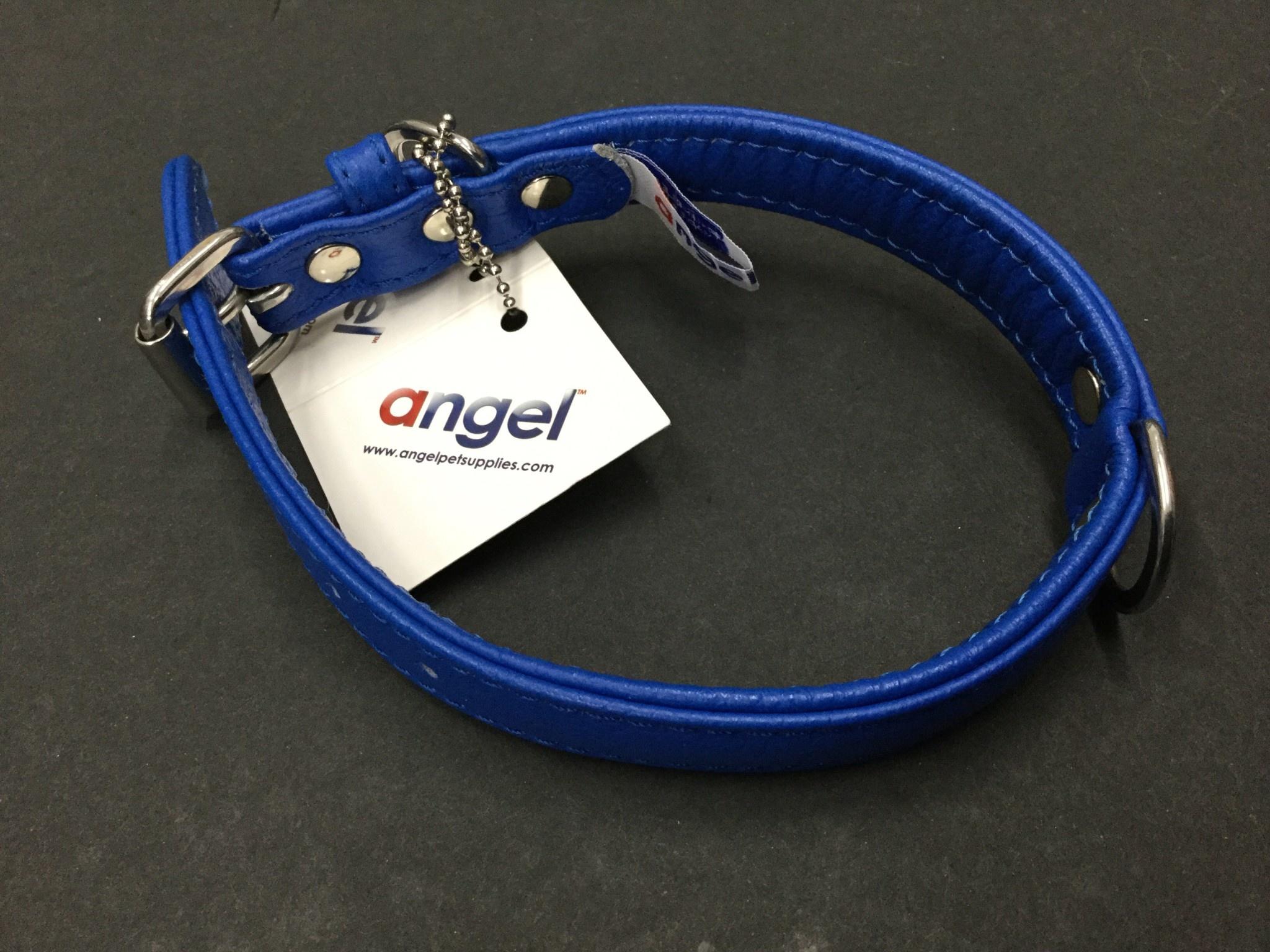 """Angel Collar Cobalt Blue 16"""" x 1""""-1"""