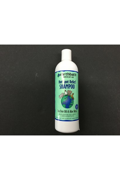 Earth Bath Tea Tree Oil & Aloe Hot-Spot Relief Shampoo 473ml