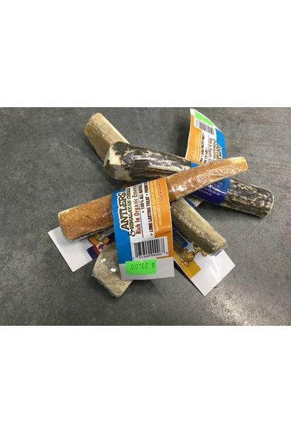 """Antler Chewz w/ Himalayan Cheese Spread Split w/ Himalayan Cheese LG 5.5-6"""""""