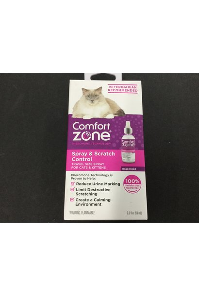 Comfort Zone Spray & Scratch Control 59mL