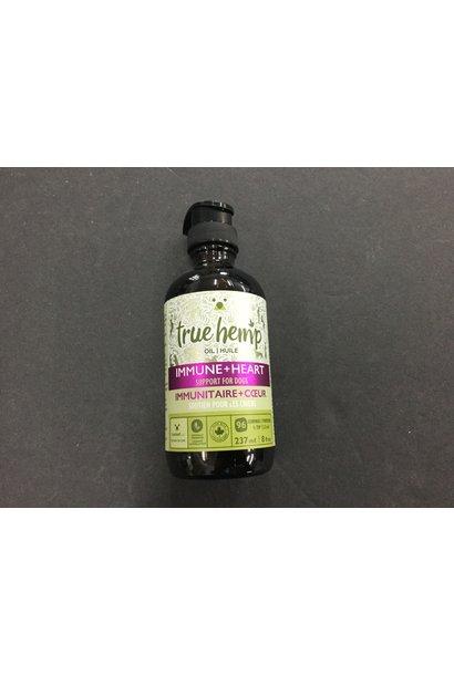 True Hemp Oil - Immune & Heart 8oz