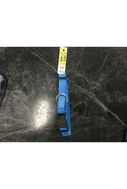 "1/2"" x 6 FT Nylon Kennel Lead Royal Blue"