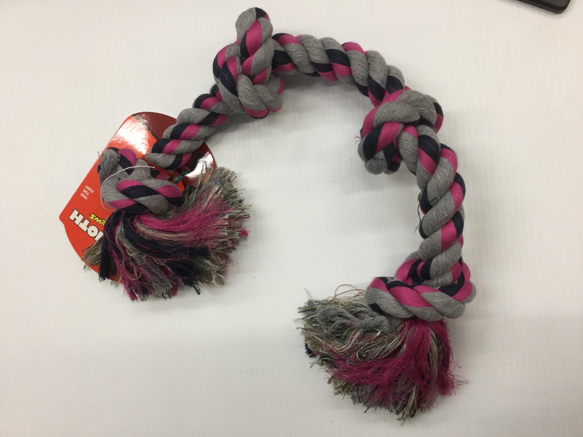 Cotton Tug 4 Knot Coloured XLarge 31-3
